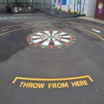 Removing Old Playground Markings in Ashton Vale 5
