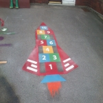 Kindergarten Floor Marking Design 1