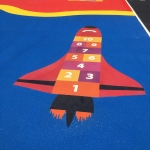 Netball Sports Markings in Wiltshire 4