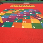 Netball Sports Markings in Ardendrain 10