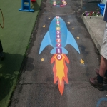 Kindergarten Floor Marking Design 5