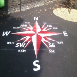 Play Surface Line Marking  in Arlesey 1