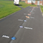 Netball Sports Markings in Wiltshire 11