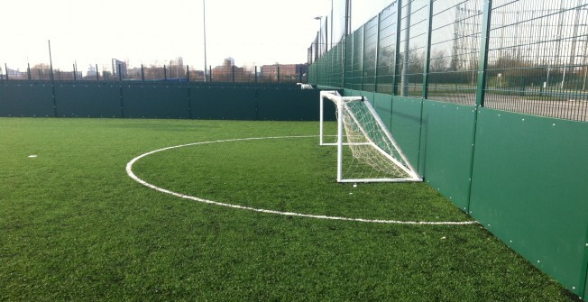 5 a Side Line Marking Specialists in Artafallie