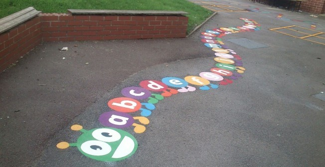 Colourful Outdoor Graphics in Abshot