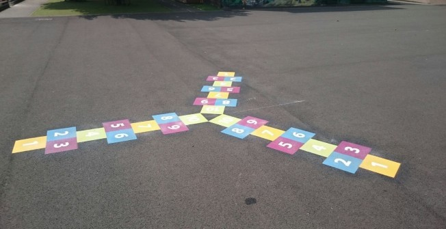 Three way Hopscotch
