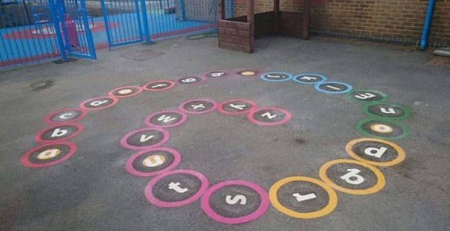Play Area Line Paintings in Ards
