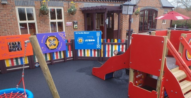Wall Games for Play Areas in East Dunbartonshire