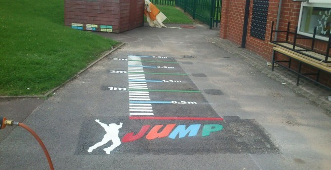 Recreational Playground Markings in Ards