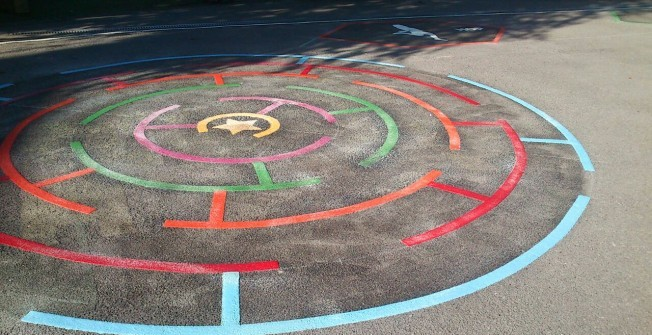 Playground Markings Removal in Abertridwr