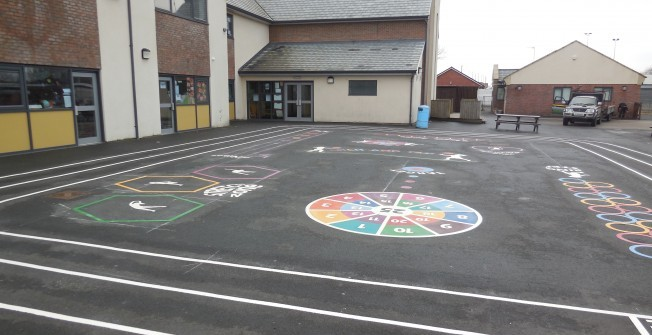 Tarmac Play Area Design in Antrim