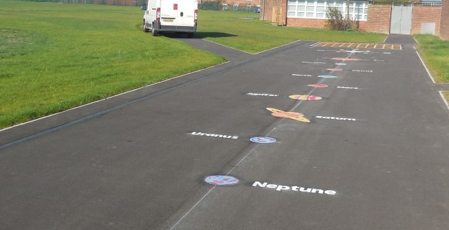 Playground Markings for Primary Schools in Antrim